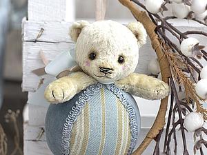 Выкройка мишки-погремушки   Ярмарка Мастеров - ручная работа, handmade