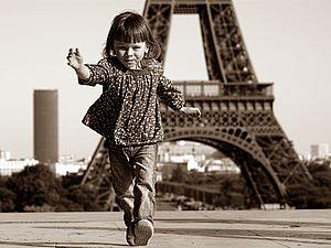 Парижские дети – они такие же как сто и более лет назад! | Ярмарка Мастеров - ручная работа, handmade
