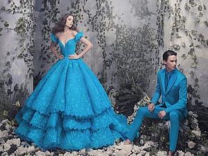 Платья для принцесс от Michael Cinco: пышные, легкие и волшебные. Ярмарка Мастеров - ручная работа, handmade.