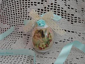 Изготовление декоративных яиц на Пасху. Ярмарка Мастеров - ручная работа, handmade.