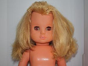 Реставрируем глазки у немецкой куклы. Ярмарка Мастеров - ручная работа, handmade.