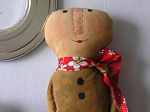 Человечки- текстильные. | Ярмарка Мастеров - ручная работа, handmade