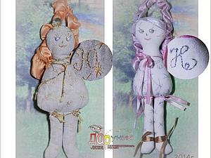 Мастер-класс: пошив  именного ангела. Ярмарка Мастеров - ручная работа, handmade.