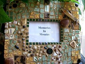 Мозаика. Декор фоторамки | Ярмарка Мастеров - ручная работа, handmade