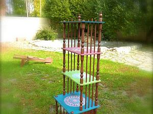 Держись, этажерка! | Ярмарка Мастеров - ручная работа, handmade