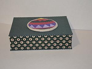 Коробочка для подарка Елочный шар. Ярмарка Мастеров - ручная работа, handmade.