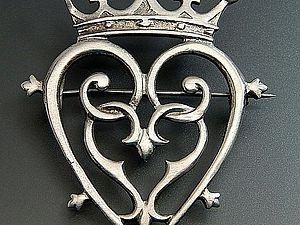 Брошь Лакенбут — символ любви и преданности | Ярмарка Мастеров - ручная работа, handmade