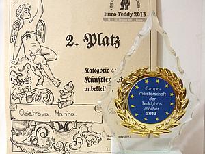 Euro Teddy 2013 | Ярмарка Мастеров - ручная работа, handmade