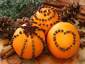 Какой же Новый год без мандаринов? | Ярмарка Мастеров - ручная работа, handmade