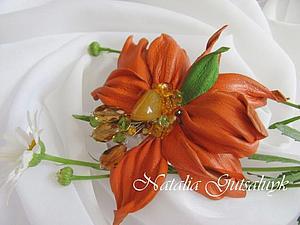 В оранжевом цвете   Ярмарка Мастеров - ручная работа, handmade