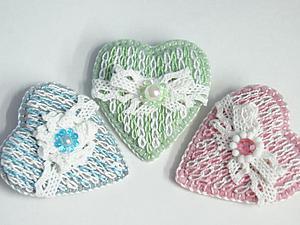Делаем брошь «Уютная зима». Вышивка, имитирующая вязание. Ярмарка Мастеров - ручная работа, handmade.