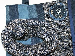 Зимний комплект | Ярмарка Мастеров - ручная работа, handmade