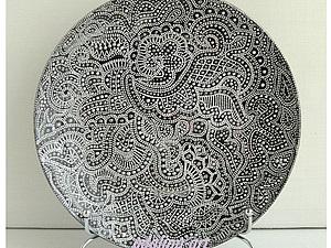 Растительный узор - Point-to-point | Ярмарка Мастеров - ручная работа, handmade