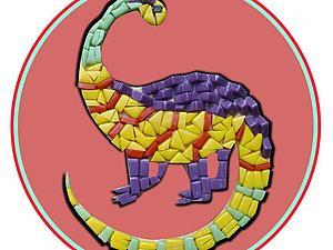 Делаем мозаичное мини-панно из смальты. Ярмарка Мастеров - ручная работа, handmade.