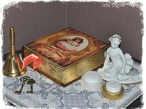Мастер-класс: декорируем книгу-шкатулку «Сладкие мечты» | Ярмарка Мастеров - ручная работа, handmade