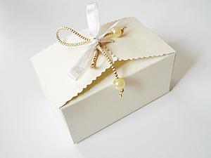 Делаем коробочку на завязках. Ярмарка Мастеров - ручная работа, handmade.