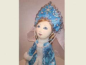 Шьем текстильную куклу