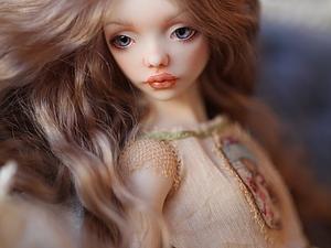 кукла для выставки
