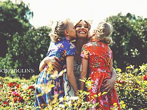 Новые образы Family Look от Алексея и Анны Бородулиных | Ярмарка Мастеров - ручная работа, handmade