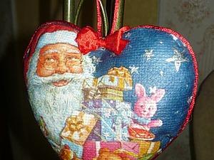 Делаем новогоднее украшение на ёлку. Ярмарка Мастеров - ручная работа, handmade.