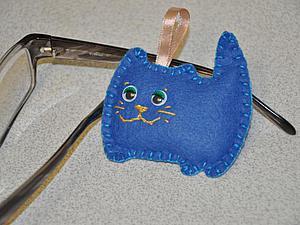 Шьем котика из фетра. Ярмарка Мастеров - ручная работа, handmade.
