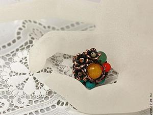Летняя коллекция украшений от нашего магазина. часть 2 . Кольца | Ярмарка Мастеров - ручная работа, handmade
