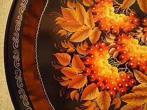 Тагильский поднос. Ярмарка Мастеров - ручная работа, handmade.
