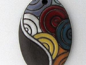 Керамические бусины Golem Design Studio | Ярмарка Мастеров - ручная работа, handmade