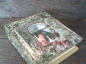 Книга-шкатулка - подарок для самых особенных случаев! Новинка нашей студии!   Ярмарка Мастеров - ручная работа, handmade