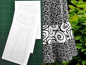 Строим выкройку юбки, опять ярусы и снова Excel | Ярмарка Мастеров - ручная работа, handmade