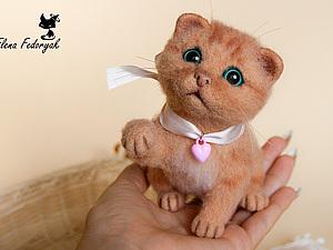 Мастер-класс по котенку в декабре   Ярмарка Мастеров - ручная работа, handmade
