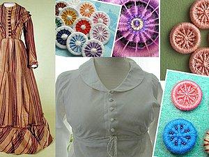 Знаменитые Dorset buttons: история, применение, технологии изготовления. Ярмарка Мастеров - ручная работа, handmade.