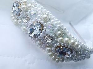 Создаем тиару для невесты. Ярмарка Мастеров - ручная работа, handmade.