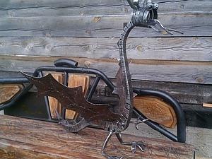 Делаем интерьерную скульптуру «Дракон» из металла. Ярмарка Мастеров - ручная работа, handmade.