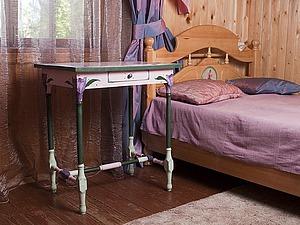 Расписываем летний столик для детской комнаты. Ярмарка Мастеров - ручная работа, handmade.