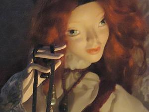 Аукцион у Елены! Очень интересная кукла! | Ярмарка Мастеров - ручная работа, handmade