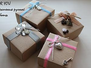 Своими руками коробочки для ювелирных украшений