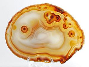 Лавка самоцветов. Часть 9: АГАТ. Глазковый агат или Агат «совиный глаз».. Ярмарка Мастеров - ручная работа, handmade.
