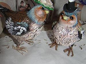 Птички мои | Ярмарка Мастеров - ручная работа, handmade