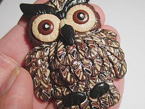 Мастер-класс: Совушка из полимерной глины. Ярмарка Мастеров - ручная работа, handmade.