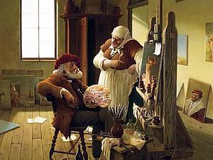 Очаровательные картины венгерского живописца   Ярмарка Мастеров - ручная работа, handmade