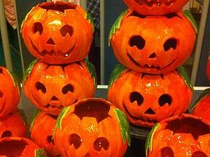 Акция: скидка на подсвечники Halloween | Ярмарка Мастеров - ручная работа, handmade
