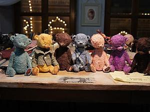 Мой первый Мишка Тедди...не судите строго... | Ярмарка Мастеров - ручная работа, handmade