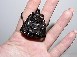 Видео мастер-класс: мастерим кожаный рюкзак для кукол. Ярмарка Мастеров - ручная работа, handmade.