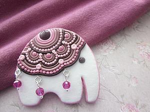 Лепим прелестного слоника с попоной. Ярмарка Мастеров - ручная работа, handmade.