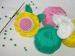 Делаем цветок-погремушку. Ярмарка Мастеров - ручная работа, handmade.