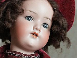 Антикварная кукла: обычная и уникальная | Ярмарка Мастеров - ручная работа, handmade