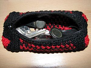Вяжем ключницу крючком. Ярмарка Мастеров - ручная работа, handmade.