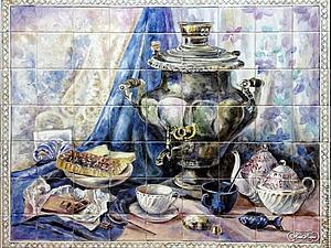 Панно на кухонный фартук | Ярмарка Мастеров - ручная работа, handmade