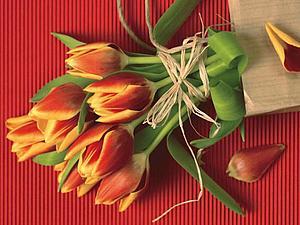Поздравляю женщин  с весенним праздником! | Ярмарка Мастеров - ручная работа, handmade